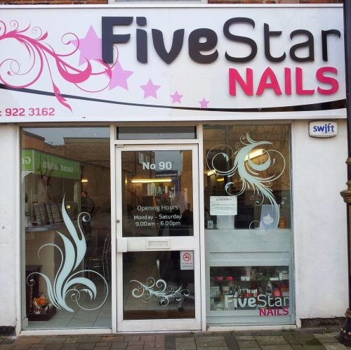Five star nails let 39 s go to beeston for Food bar beeston