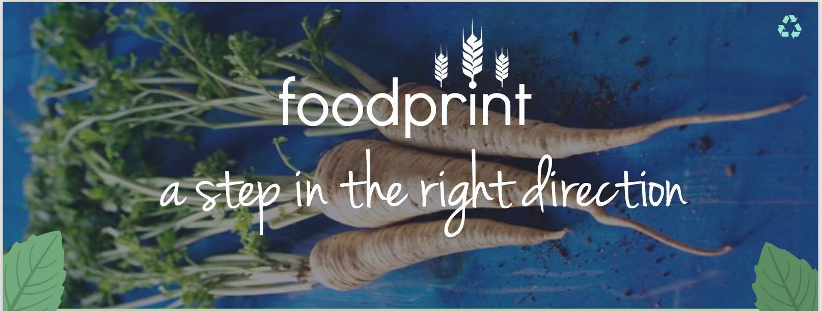 Foodprint a step in the right diirection
