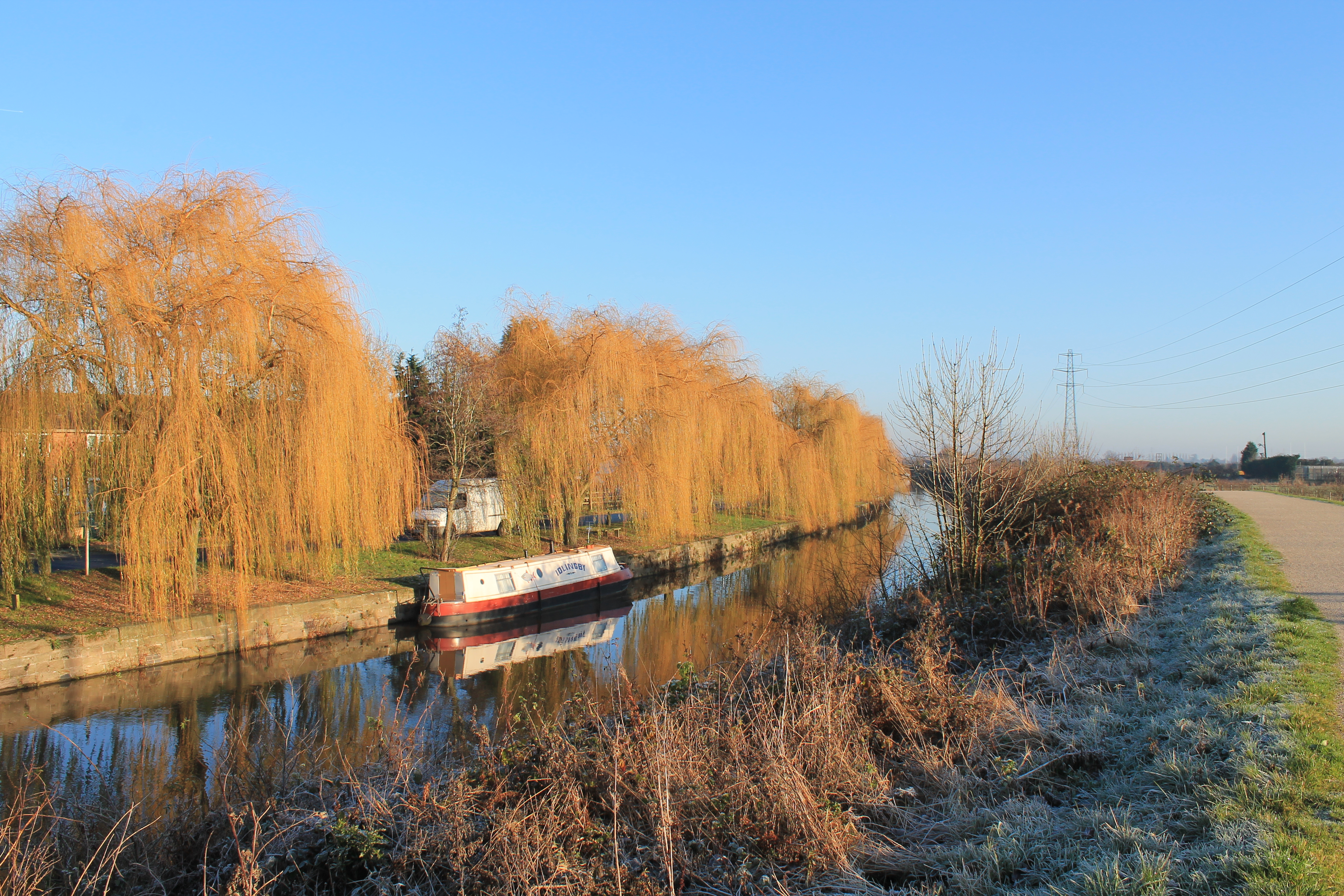 Andrew Guest's image of the canal at Beeston Rylands