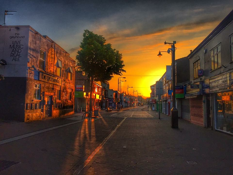 Dale Wilson's image of High Road, Beeston